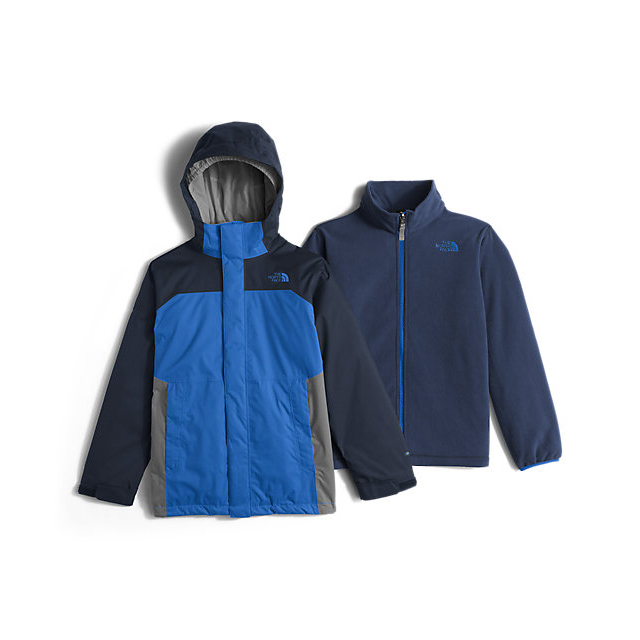 CHEAP NORTH FACE BOYS\' VORTEX TRICLIMATE JACKET JAKE BLUE ONLINE