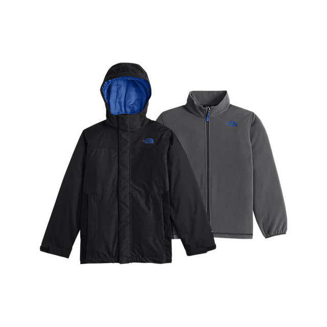 CHEAP NORTH FACE BOYS' VORTEX TRICLIMATE JACKET BLACK / JAKE BLUE ONLINE