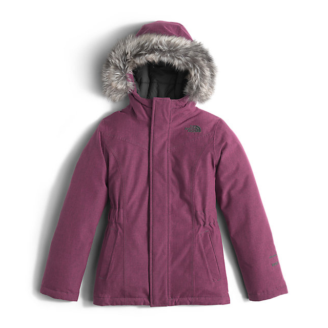 CHEAP NORTH FACE GIRLS' GREENLAND DOWN PARKA CABARET PINK HEATHER ONLINE