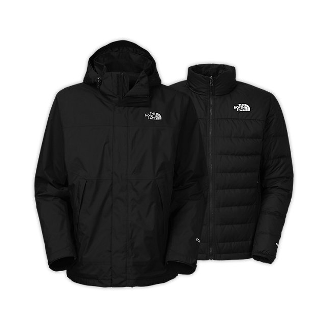 CHEAP NORTH FACE MEN'S MOUNTAIN LIGHT TRICLIMATE JACKET BLACK / BLACK ONLINE