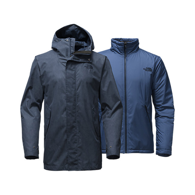 CHEAP NORTH FACE MEN'S ELMHURST TRICLIMATE JACKET URBAN NAVY ONLINE