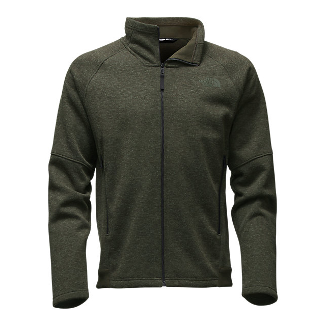 CHEAP NORTH FACE MEN'S FAR NORTHERN FULL ZIP ROSIN GREEN HEATHER/ROSIN GREEN HEATHER ONLINE