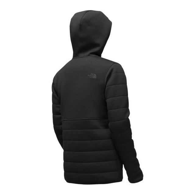 CHEAP NORTH FACE MEN\'S HOODED HALDEE INSULATED JACKET BLACK ONLINE