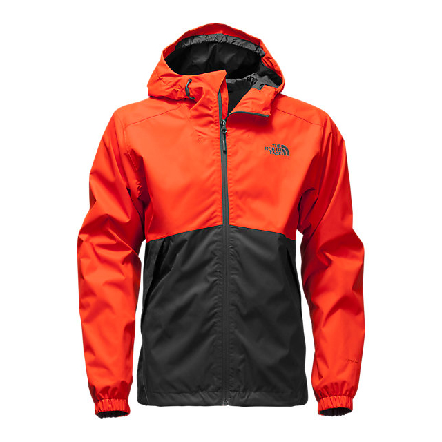CHEAP NORTH FACE MEN'S MILLERTON JACKET POINCIANA ORANGE/ASPHALT GREY ONLINE