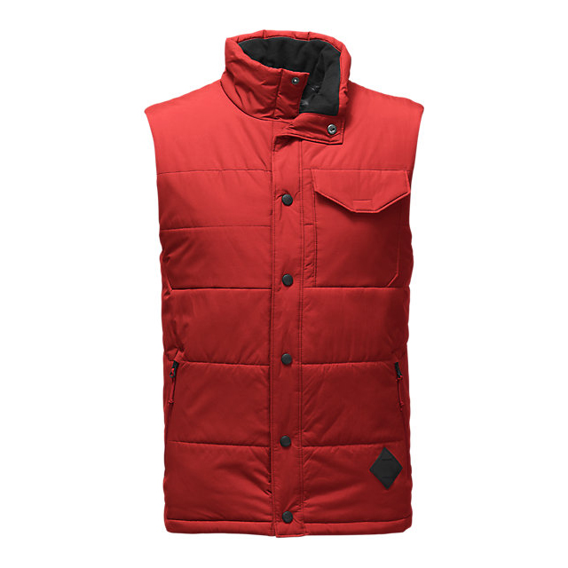 CHEAP NORTH FACE MEN'S PATRICKS POINT VEST CARDINAL RED ONLINE