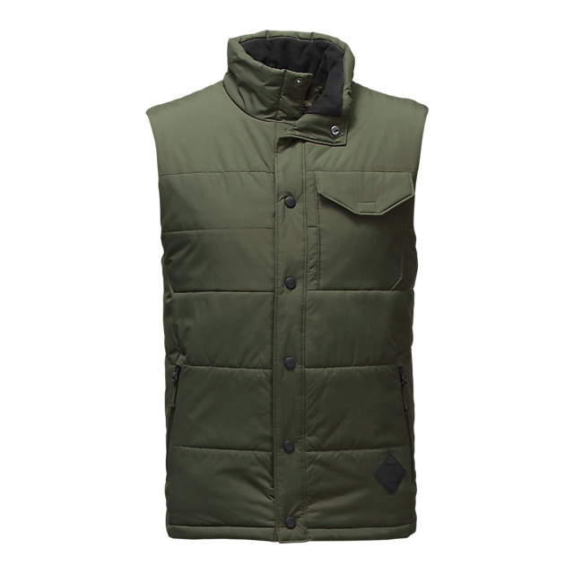 CHEAP NORTH FACE MEN'S PATRICKS POINT VEST CLIMBING IVY GREEN ONLINE