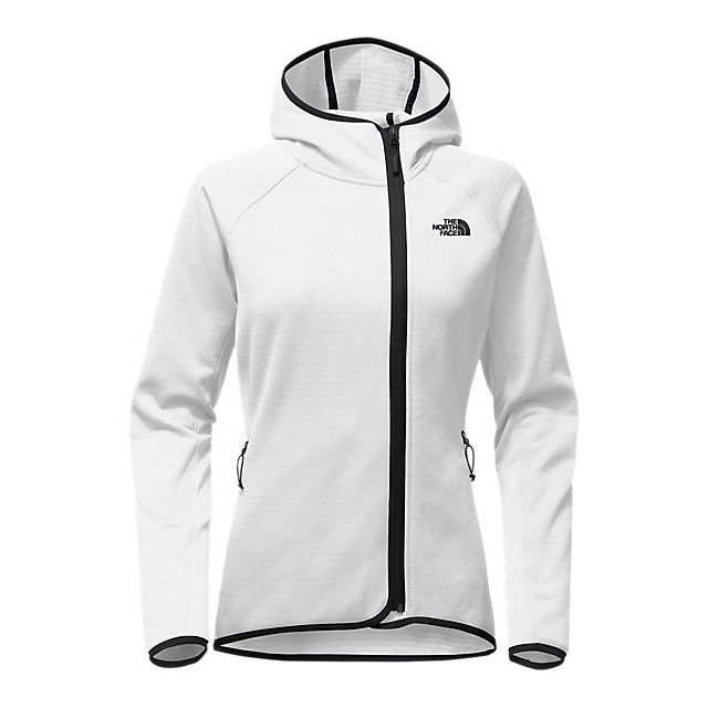 CHEAP NORTH FACE WOMEN'S ARCATA HOODIE WHITE / BLACK ONLINE