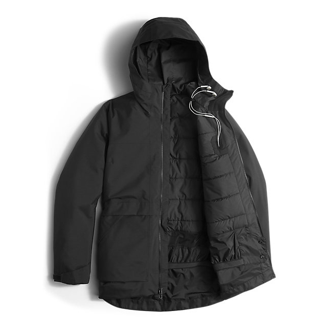 CHEAP NORTH FACE WOMEN\'S NEVERMIND JACKET BLACK ONLINE