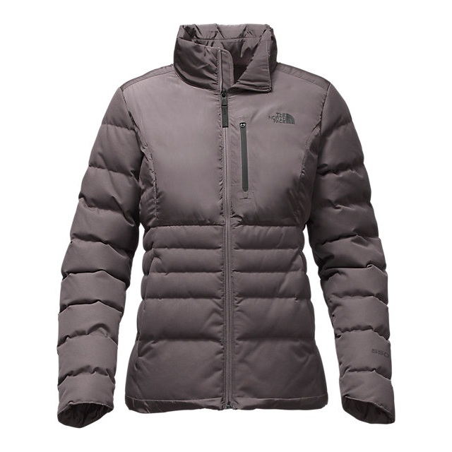CHEAP NORTH FACE WOMEN\'S DENALI DOWN JACKET RABBIT GREY ONLINE