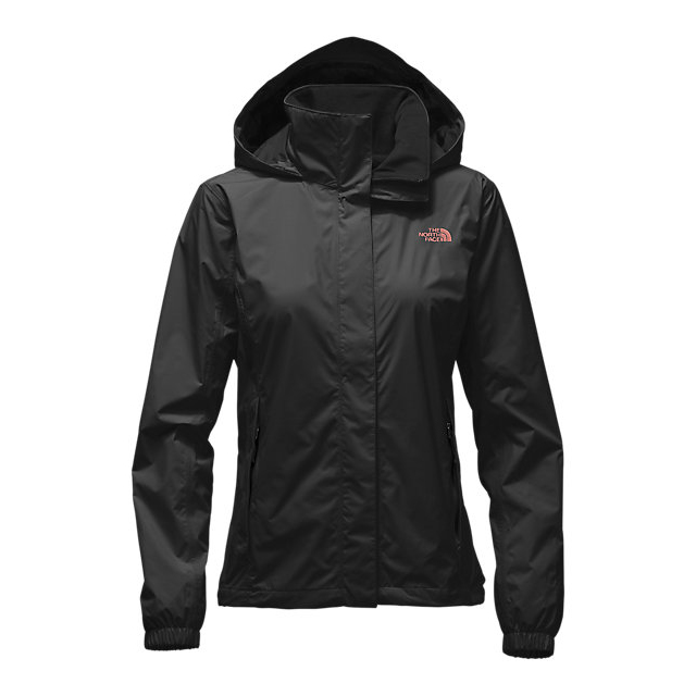 CHEAP NORTH FACE WOMEN'S RESOLVE JACKET BLACK/ROSE DAWN ONLINE