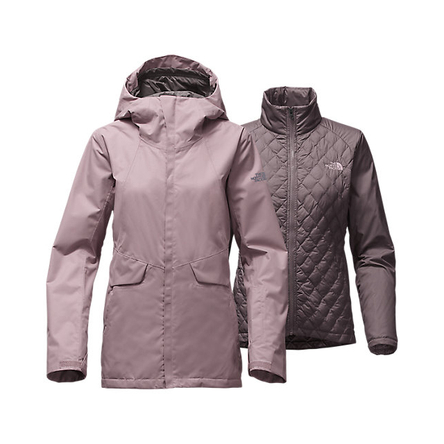 CHEAP NORTH FACE WOMEN'S INITIATOR THERMOBALL TRICLIMATE JACKET QUAIL GREY ONLINE